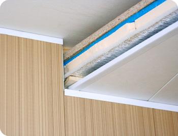 Утепление потолка на лоджии и балконе