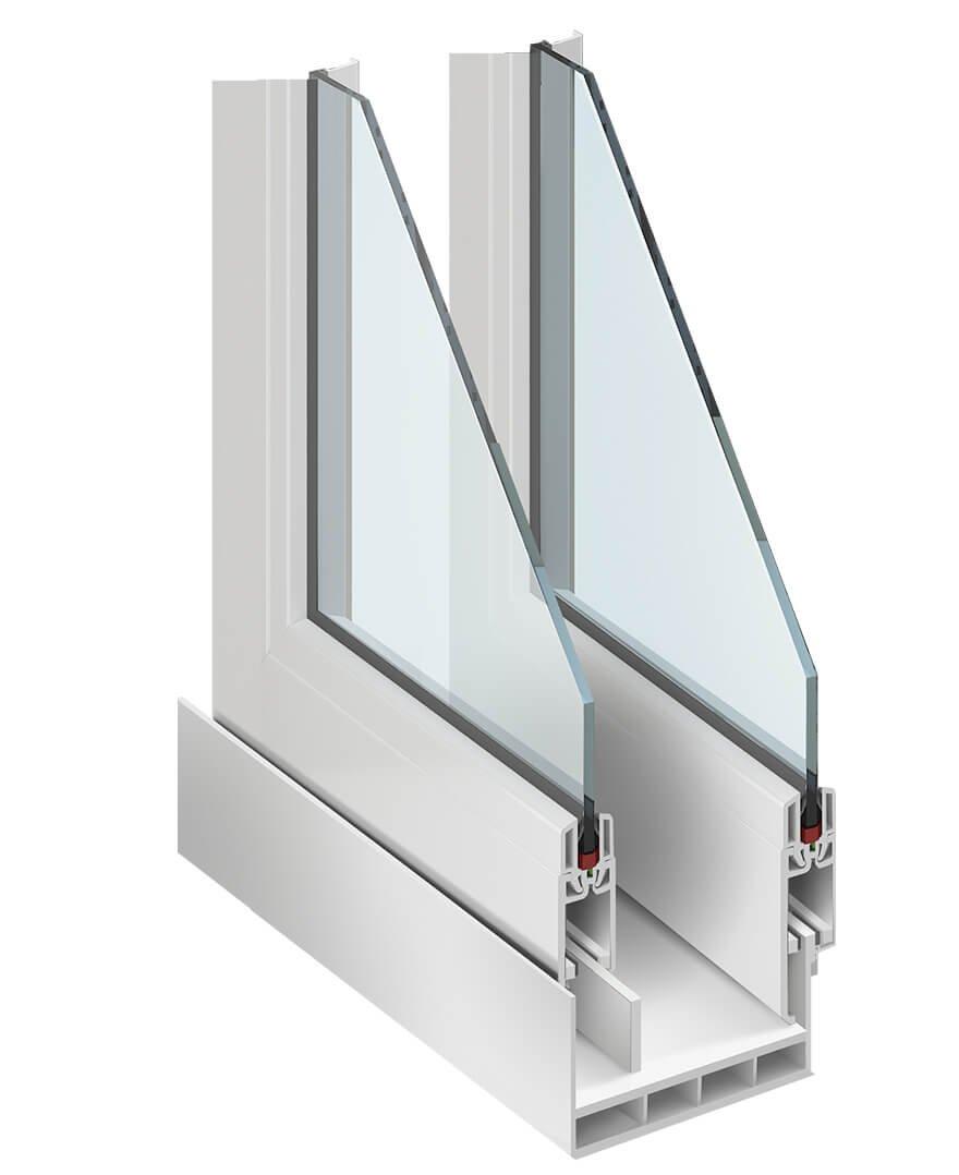 Холодный вариант остекления балкона и лоджии.