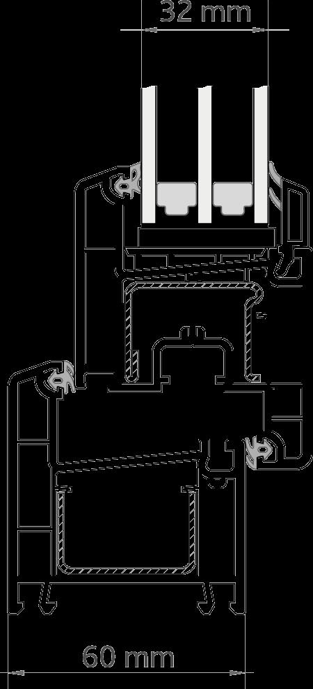 CLASSIC™ 60 глубина 60 мм