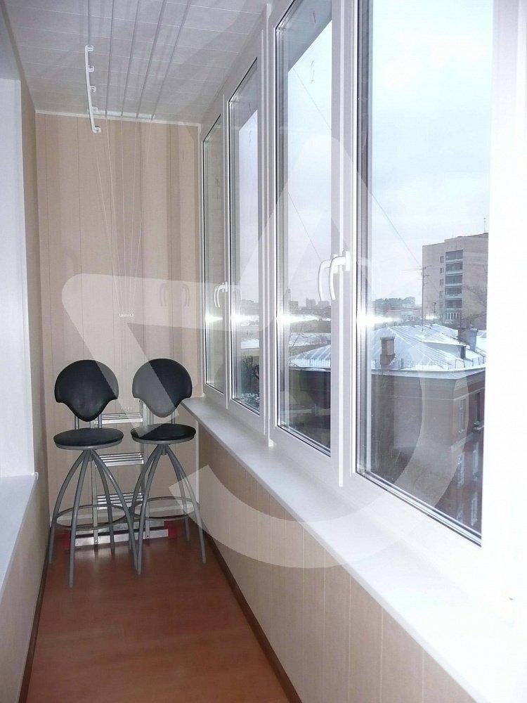 Отделка балконов и лоджий 8
