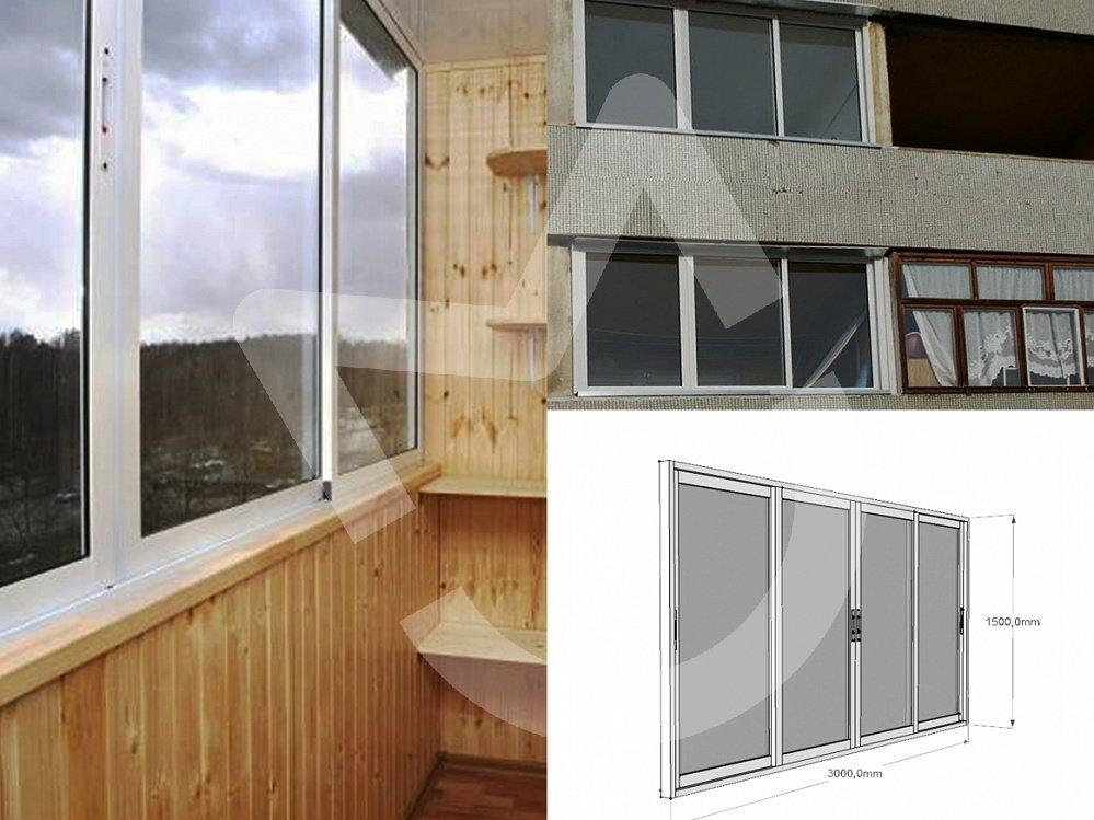 Как остеклить балкон алюминиевым профилем своими руками 17