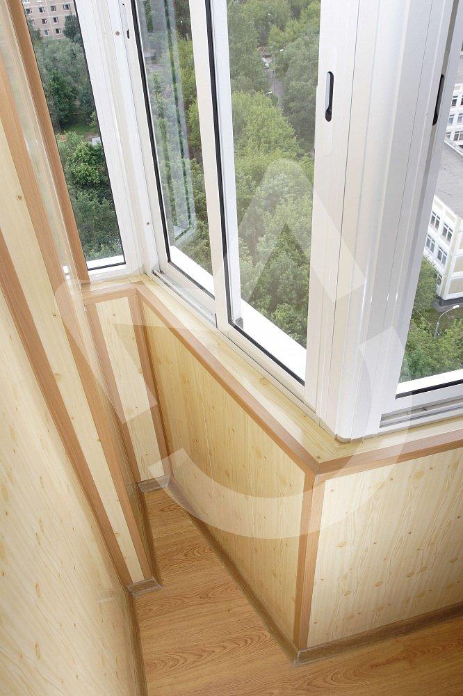 Отделка балконов и лоджий 4